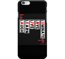 a vow to be constant iPhone Case/Skin