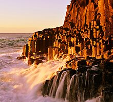 Devils Causeway - Fingal Head by Kate Wall