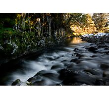Icy Stream  Photographic Print