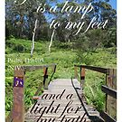 Your word is a lamp to my feet by Catherine Davis