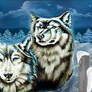 Wolfs Winter Wonder Land by ArtChances