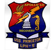 USS Princeton (LPH-5) Recovery of Apollo 10 Poster