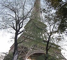 Eiffel Tower by spinwych