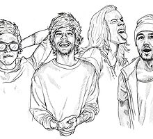 One Direction by Cécile Pellerin