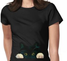 Kittycat Womens Fitted T-Shirt