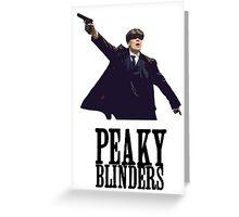 Peaky Blinders Murphy Greeting Card
