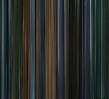 Moviebarcode: X-Men II (2003) by moviebarcode