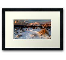 Mt Ngauruhoe in the Cloud Framed Print
