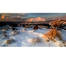 Mt Ngauruhoe in the Cloud Photographic Print