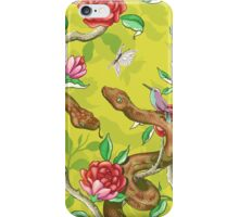 Morning Song - mustard iPhone Case/Skin