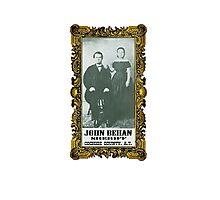Sheriff John Behan  Photographic Print