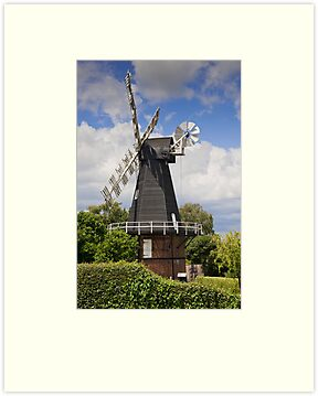 Windmill - Kent, UK. by DonDavisUK