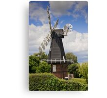 Windmill - Kent, UK. Canvas Print