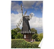 Windmill - Kent, UK. Poster