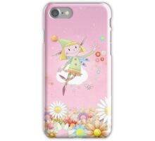 Flower Fairy iPhone Case/Skin