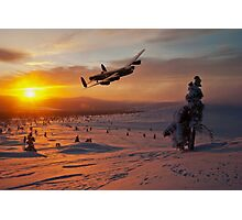 A Winter Sortie Photographic Print