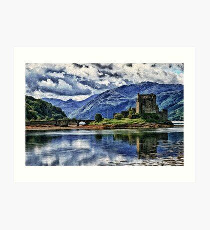 Eilean Donan The Castle (Best view large) Art Print