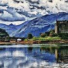Eilean Donan The Castle (Best view large) by jim sloan