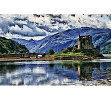 Eilean Donan The Castle (Best view large) Photographic Print