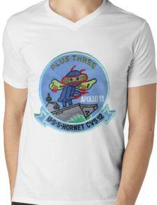CVS-12 USS Hornet Apollo 11 Recovery Patch 2 Mens V-Neck T-Shirt
