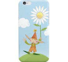 Friendly Pixie With Daisy iPhone Case/Skin