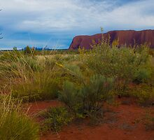 ULURU-KATA TJUTA NATIONAL PARK N.T. by Lawrence Gauci
