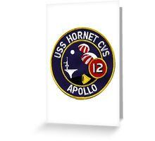 USS Hornet CVS-12, Recovery of Apollo 12 Greeting Card