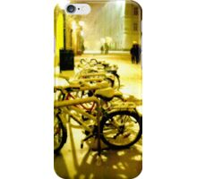 Snowy Salzburg Bikes iPhone Case/Skin