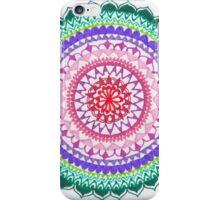 Mandala dei quattro chakra iPhone Case/Skin