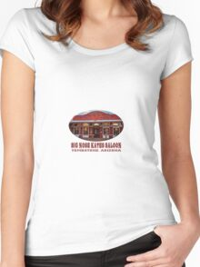 Big Nose Kate's Saloon Women's Fitted Scoop T-Shirt