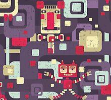 Geometric robots. by Ekaterina Panova