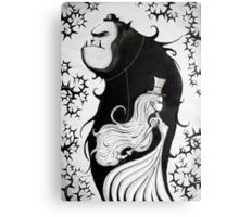 Mr. and Mrs. Beast Canvas Print