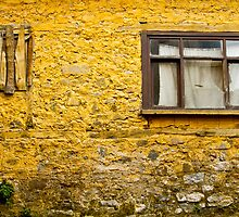 Yellow Wall by Masis Usenmez