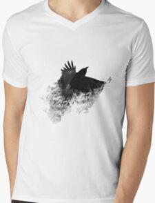The Black Crow Mens V-Neck T-Shirt