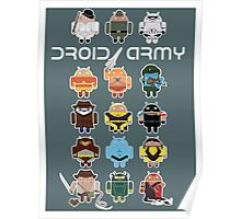 DroidArmy: Maclac Squadron (on your wall!) Poster
