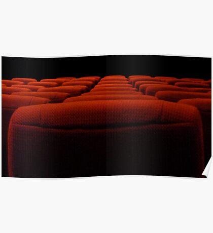 empty theatre Poster