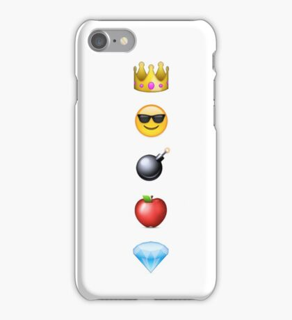 Jim Moriarty Emoji iPhone Case/Skin