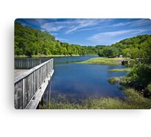 Bear River, Nova Scotia, Canada Canvas Print