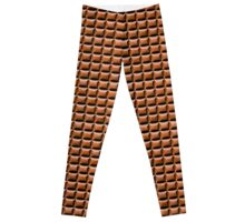 Chocolate Bar Overhead Leggings