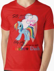 Best pony Mens V-Neck T-Shirt
