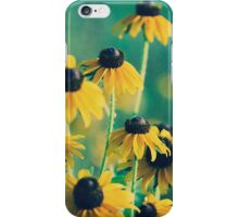 Emerald and Topaz Summer Botanical iPhone Case/Skin