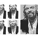 Making Richard Branson 2011 by Nigel Silcock