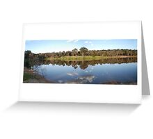 Companys Dam Grenfell NSW Australia Greeting Card