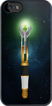 Sonic Screwdriver iPhone Case by Tom Trager