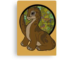 Little foot, Land before time Canvas Print