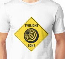 Twilight Zone Street Sign Unisex T-Shirt