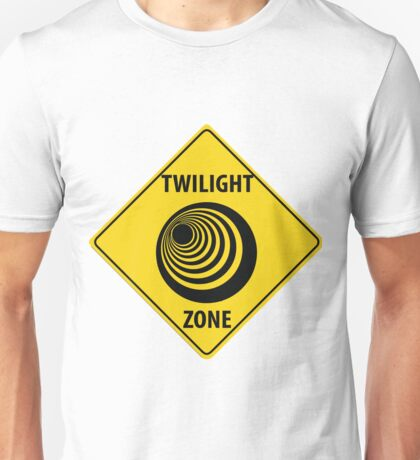 Twilight Zone Street Sign Unisex T-Shirt