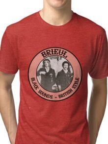 Brieul // Black Sounds & British Style Tri-blend T-Shirt