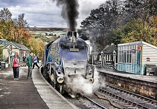 Grosmont Station by Trevor Kersley