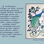 Poetry in Art - A Whisper by Robin Monroe